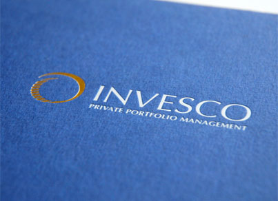 CHP graphic design & branding for Invesco