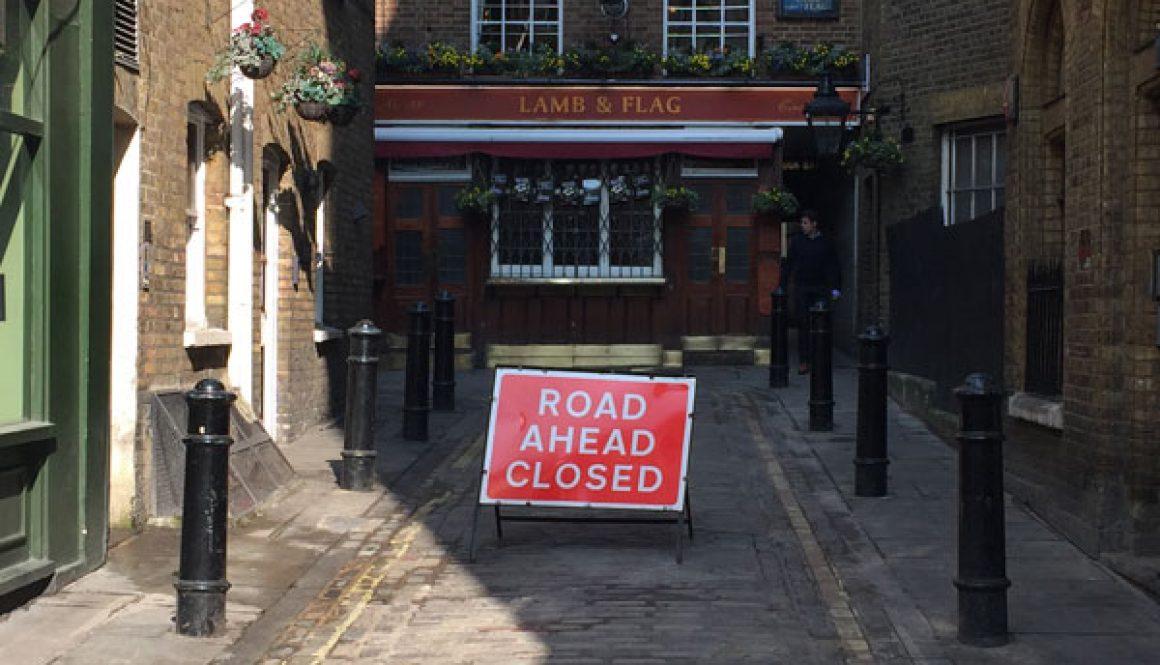 Accessible web design, CHP Design London, blocked access